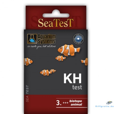 Aquarium Systems Seatest KH 2x10ml