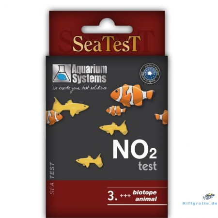 Aquarium Systems Seatest NO2 140 Tests