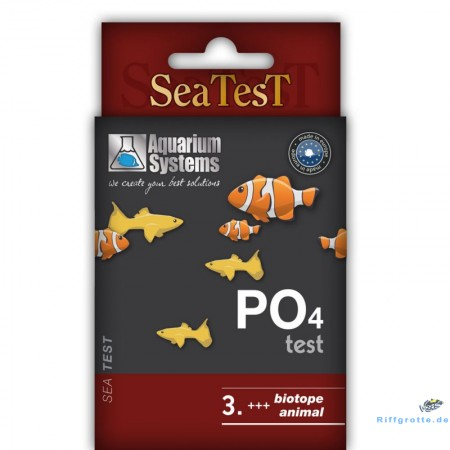 Aquarium Systems Seatest PO4 40 Tests