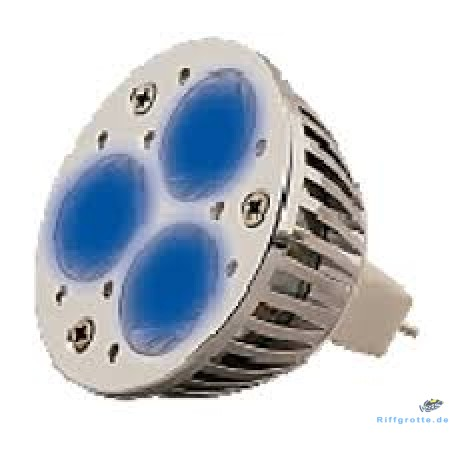 aquasunspot LED 3 x 1 Blue